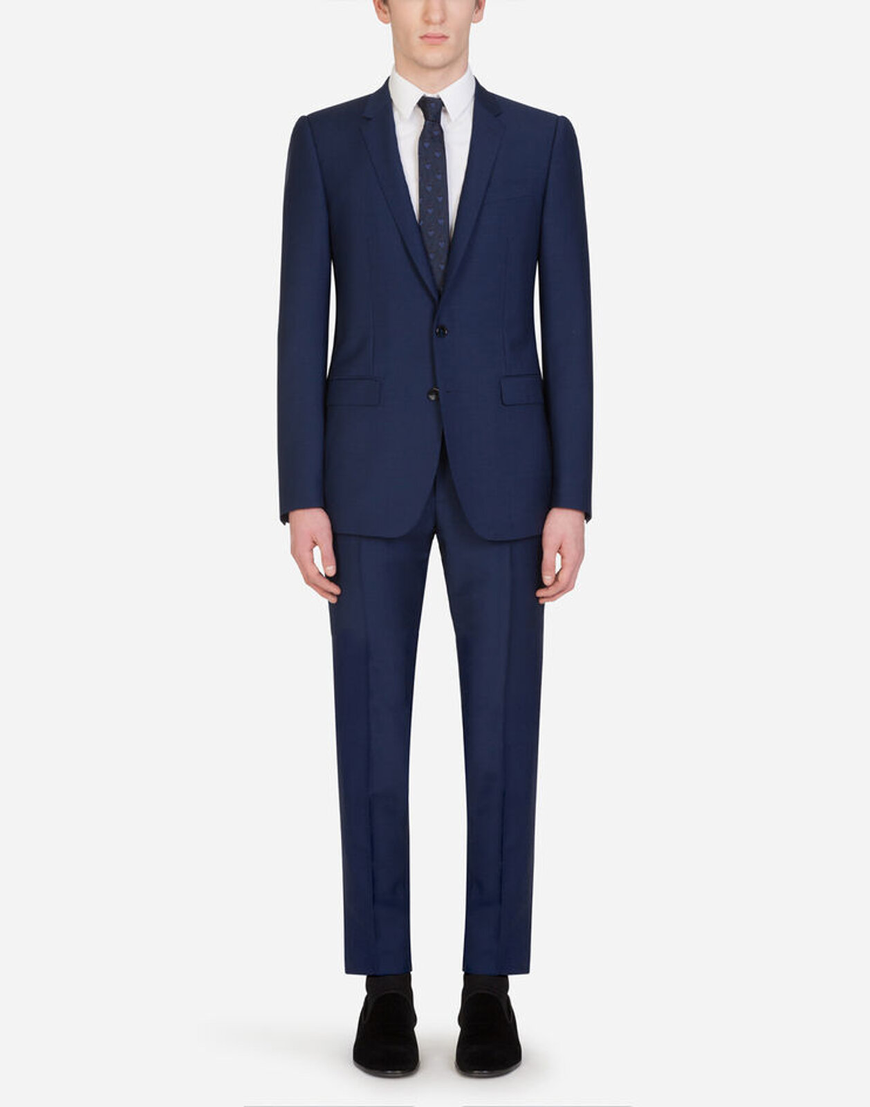 Martini Wool Suit - Dolce & Gabbana