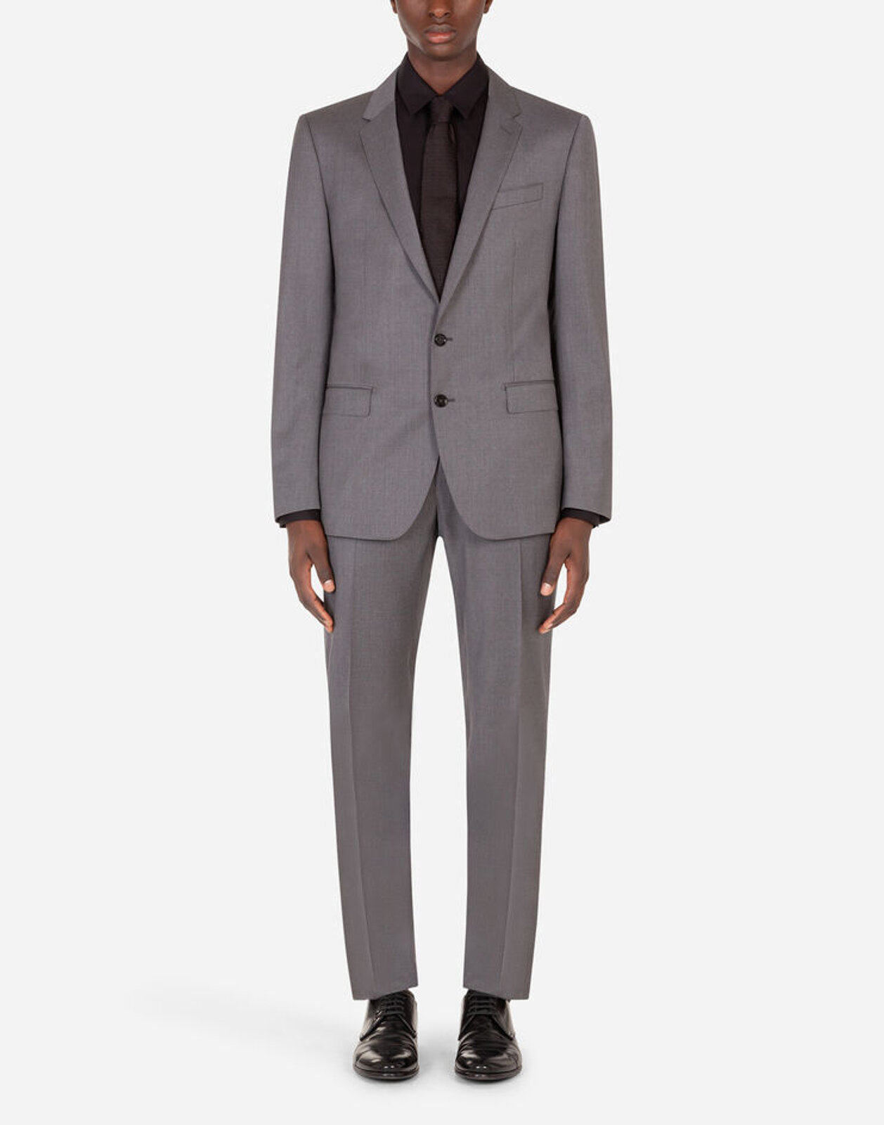 Stretch Pinstripe Wool Martini Suit - Dolce & Gabbana