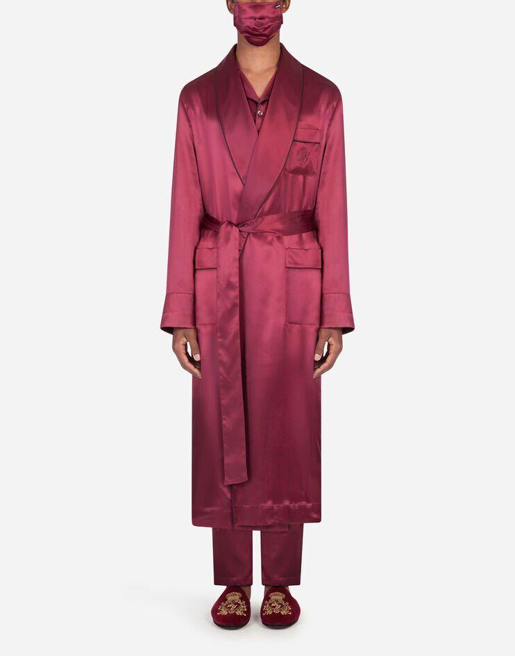 Robe With Silk Mask - Dolce & Gabbana