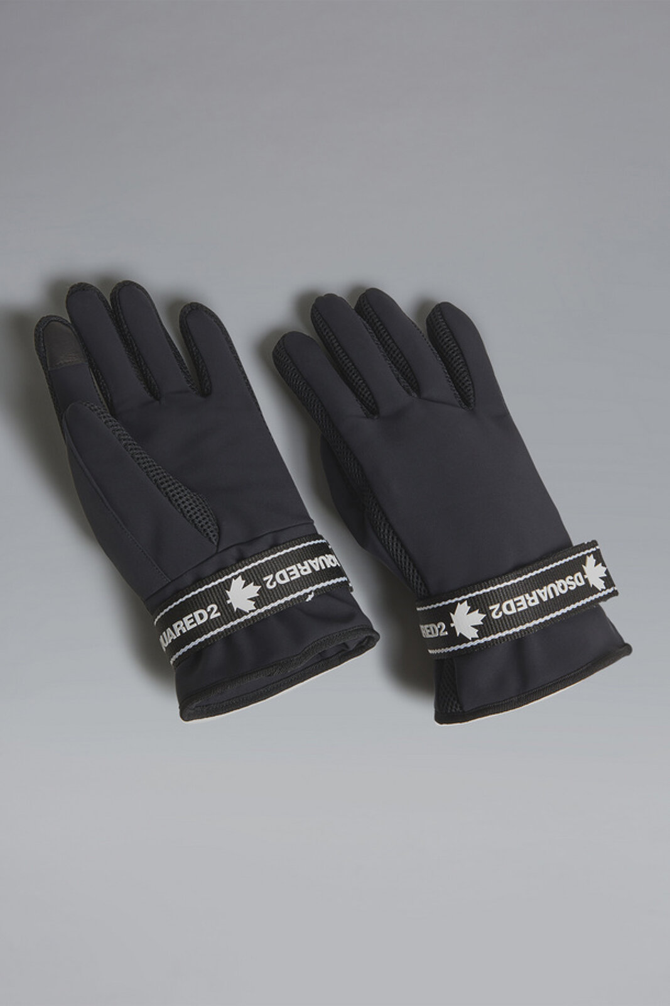 Black Tape Gloves - Dsquared2