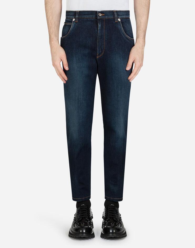 Stretch Washed Jeans - Dolce & Gabbana
