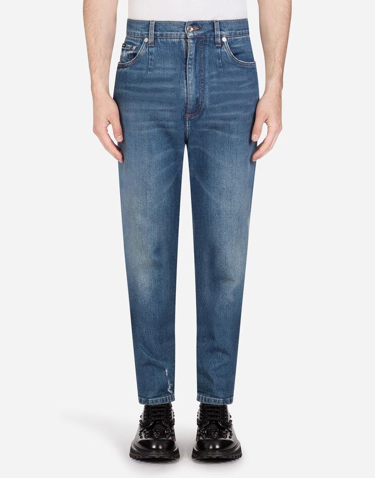 High Waist Stretch Jeans - Dolce & Gabbana