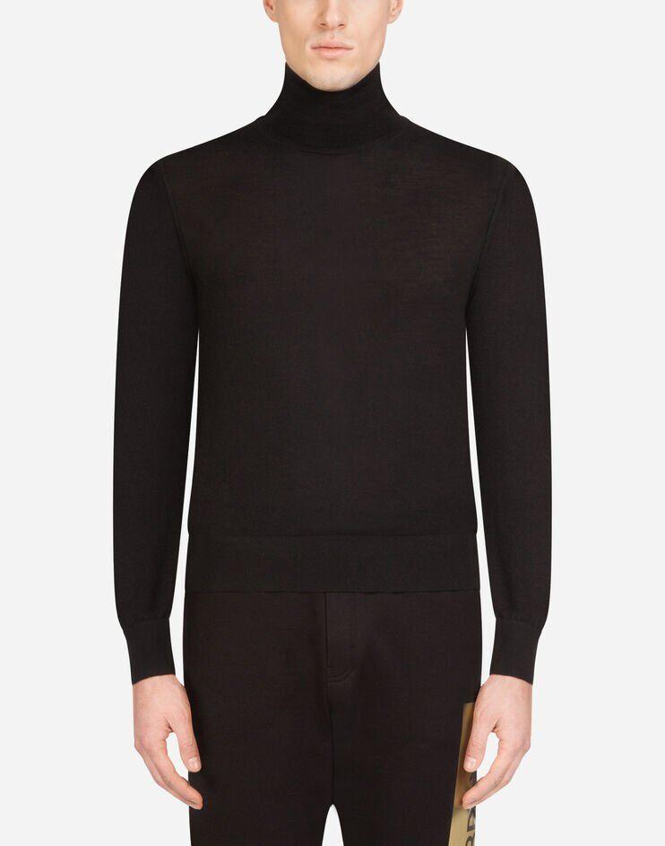 Maglia Collo Alto In Cashmere - Dolce & Gabbana