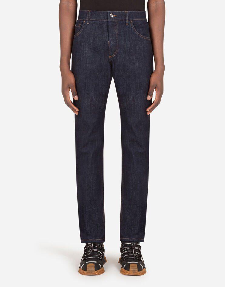 Slim Stretch Blue Jeans - Dolce & Gabbana