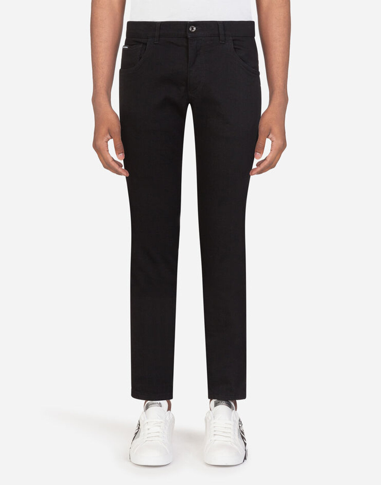 Black Stretch Skinny Jeans - Dolce & Gabbana