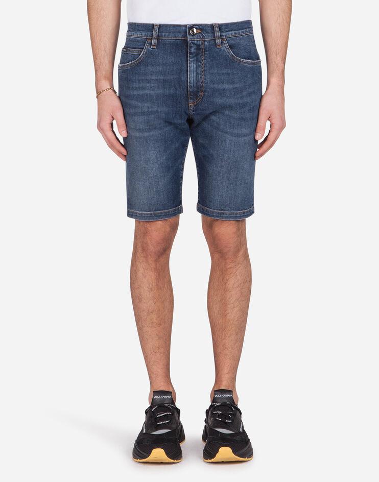 Bermuda Jeans Stretch - Dolce & Gabbana