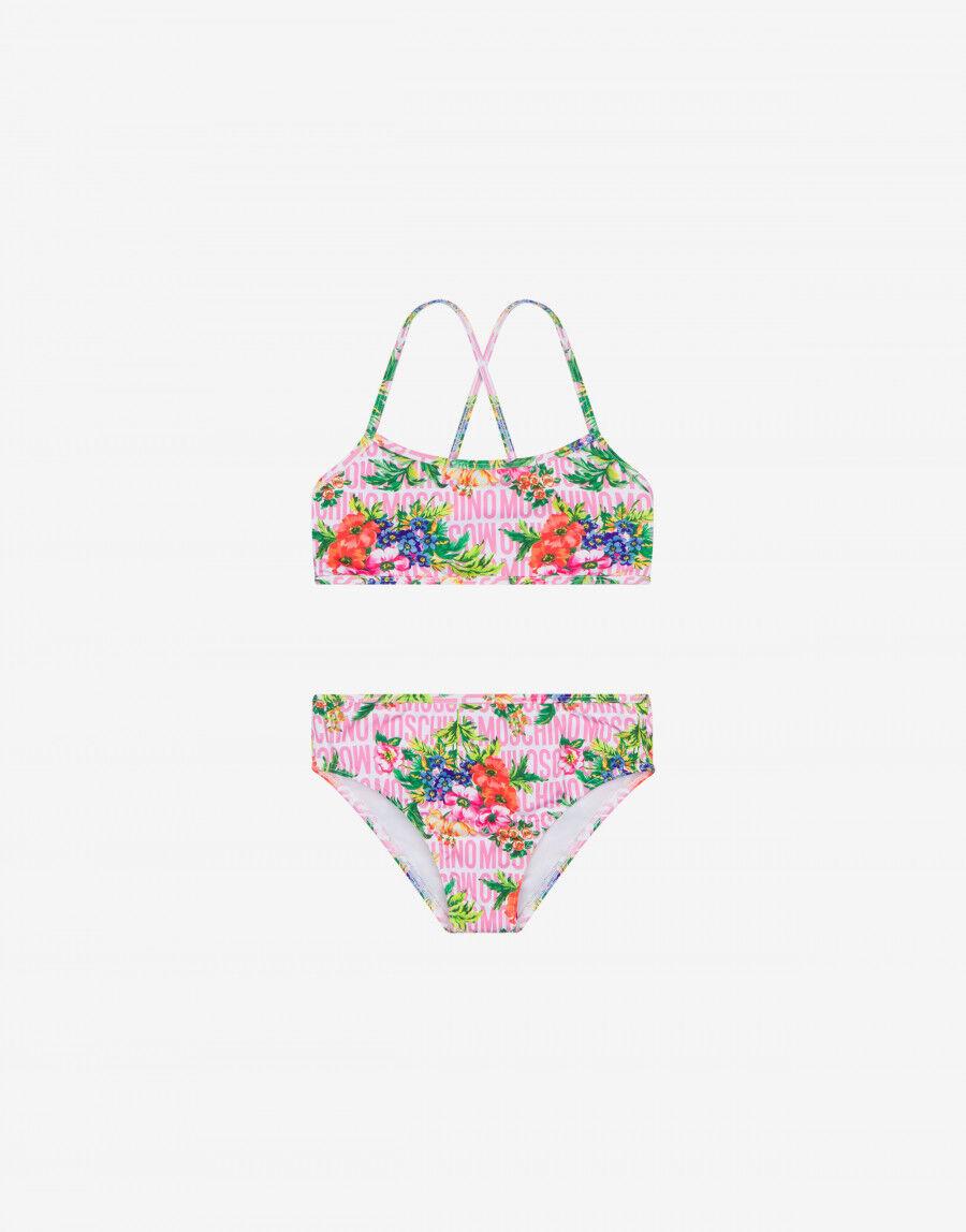 Bikini Flowers Lost & Found - Moschino Junior