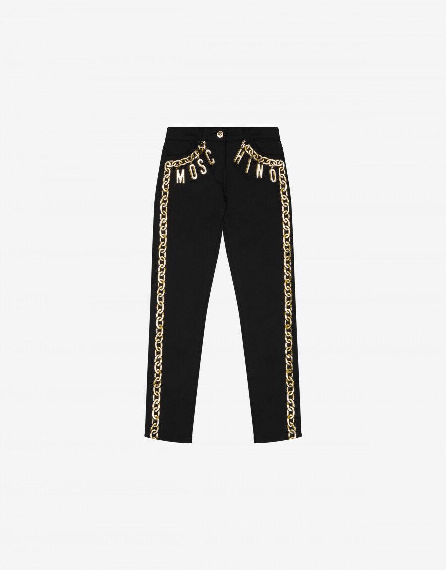 Pantalone Lettering Charm - Moschino Junior