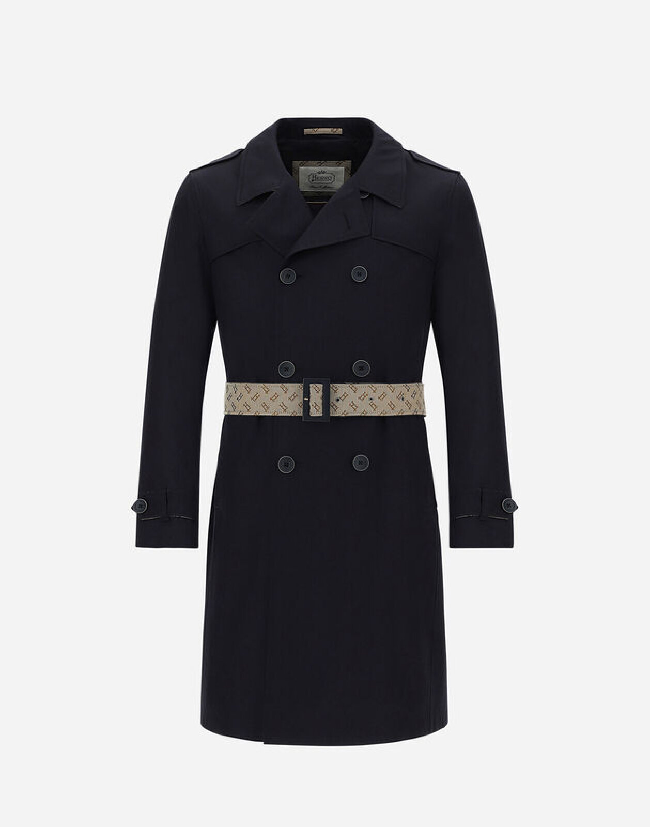 Monogram trench coat - Herno