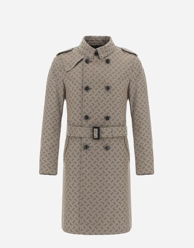 Monogram Canvas trench coat - Herno