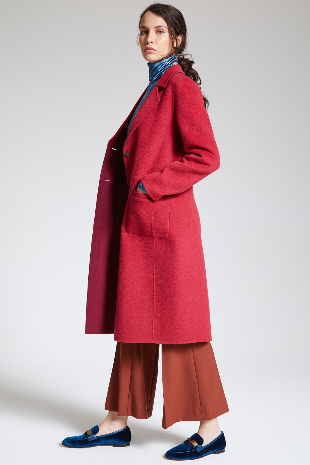 Cappotto Bi-Colour Wool - Maliparmi