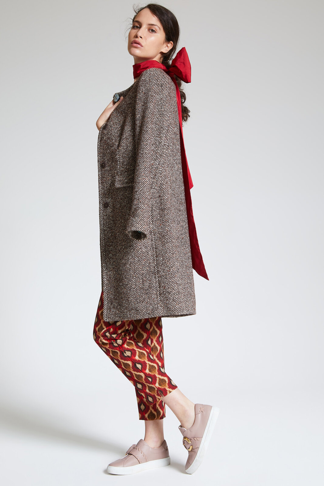 Cappotto Diagonal Wool - Maliparmi