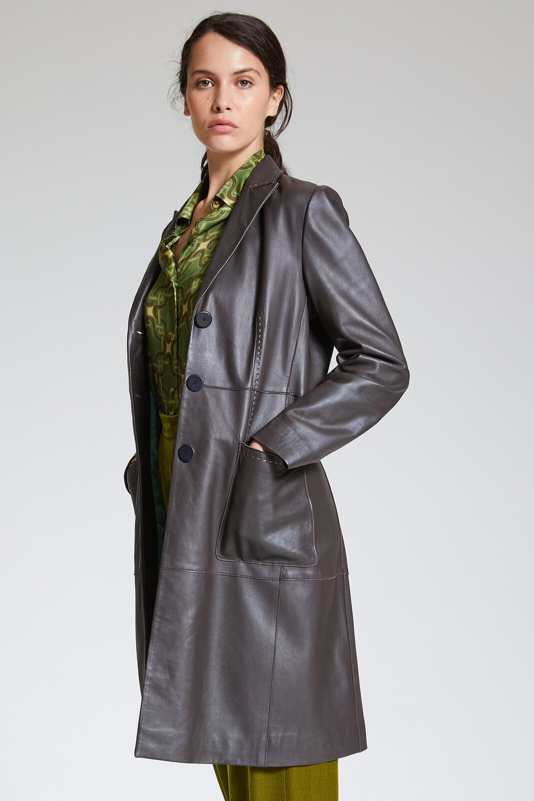 Cappotto Soft Leather - Maliparmi