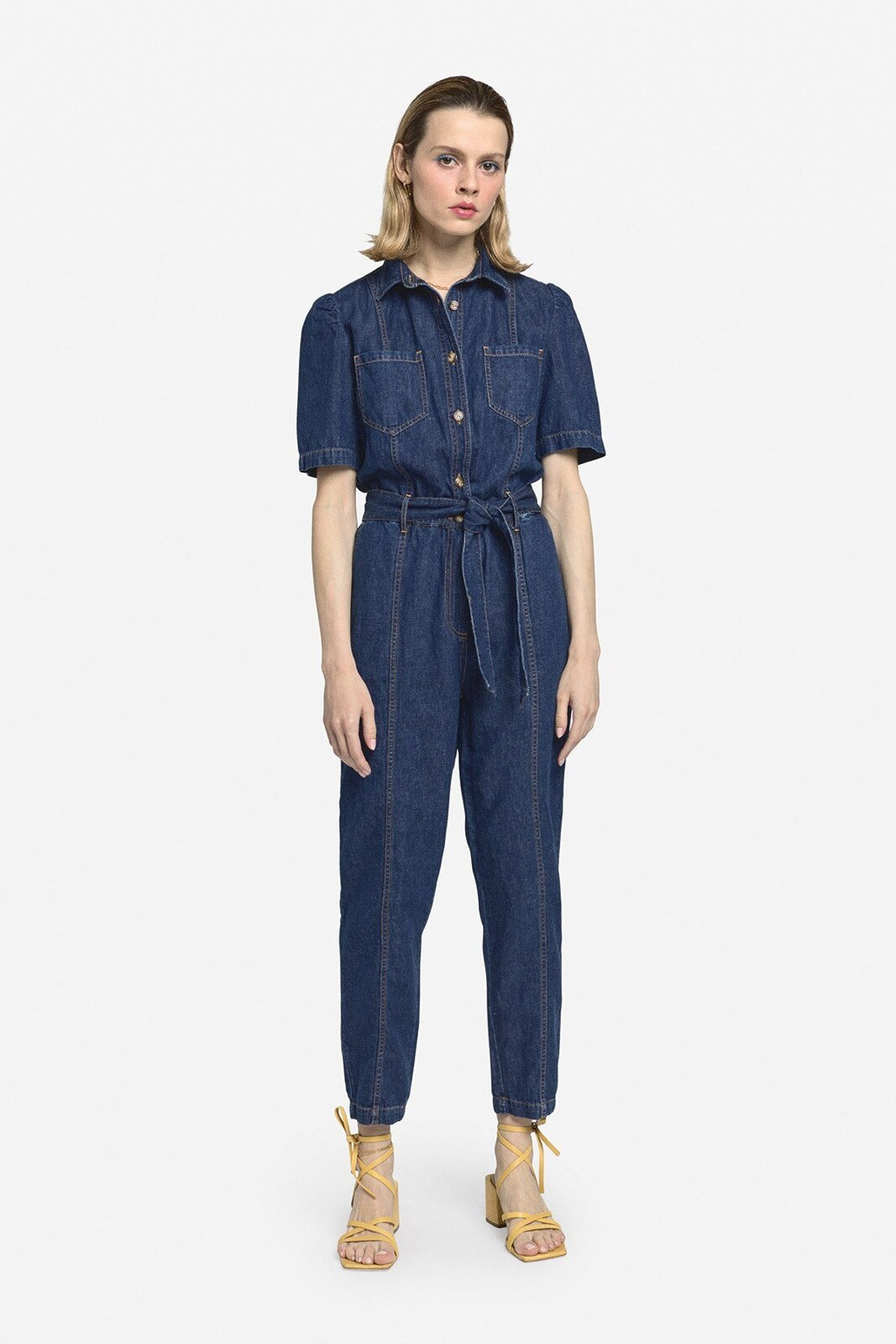 Denim Pants Suit - ottod'Ame