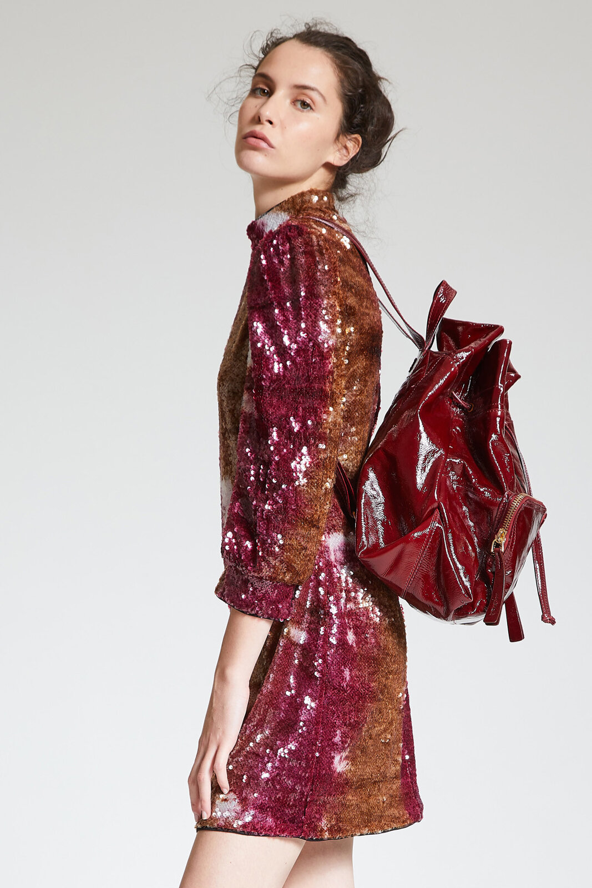 Abito Tie & Dyed Sequins - Maliparmi