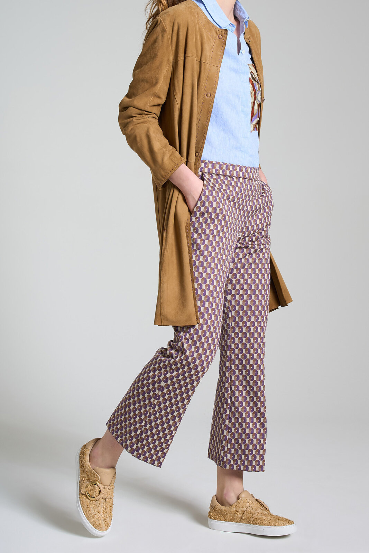 Pantalone Geometric Jacquard - Maliparmi