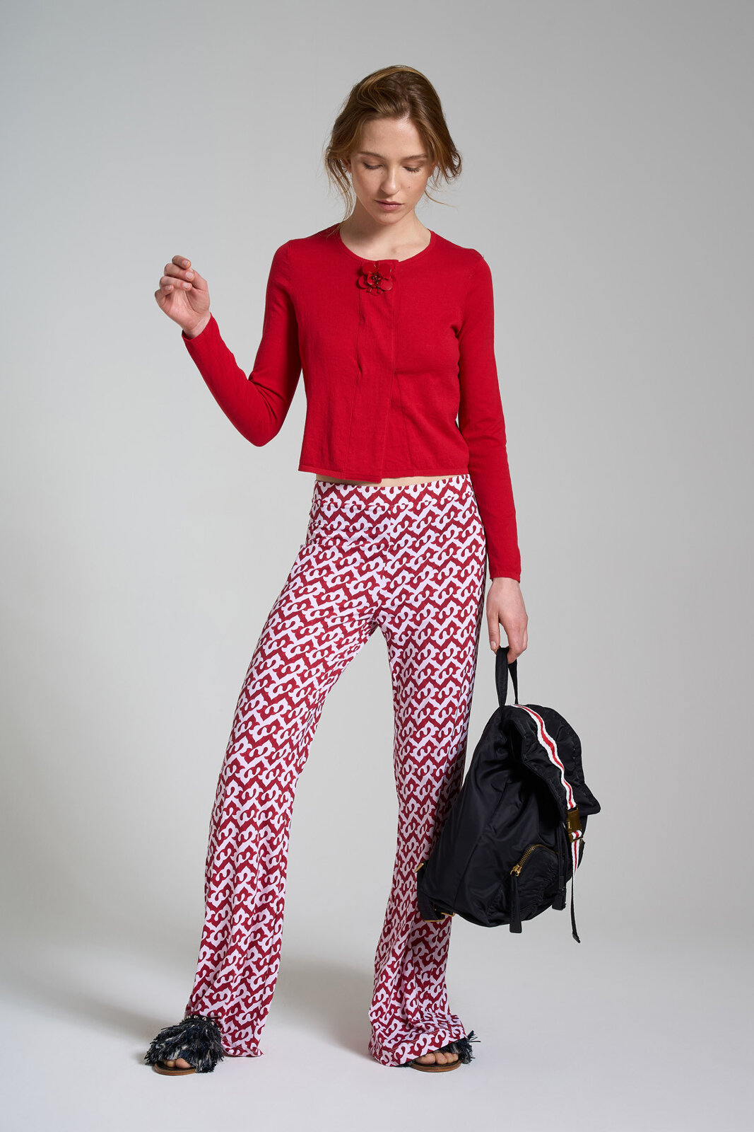 Ceres Drop Jersey Trousers - Maliparmi
