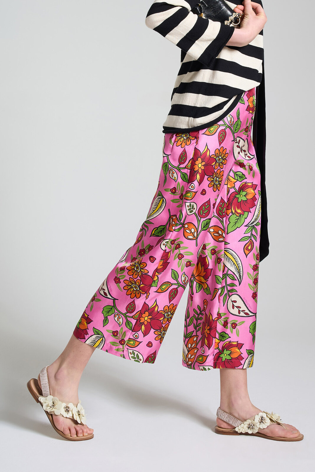 Collection Print Trousers - Maliparmi