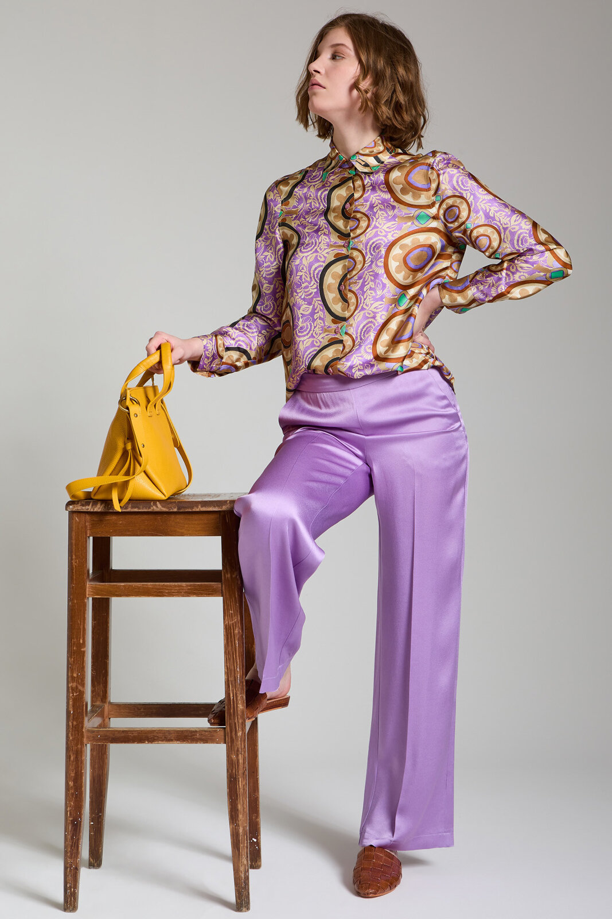 Pantalone Liquid Cady - Maliparmi