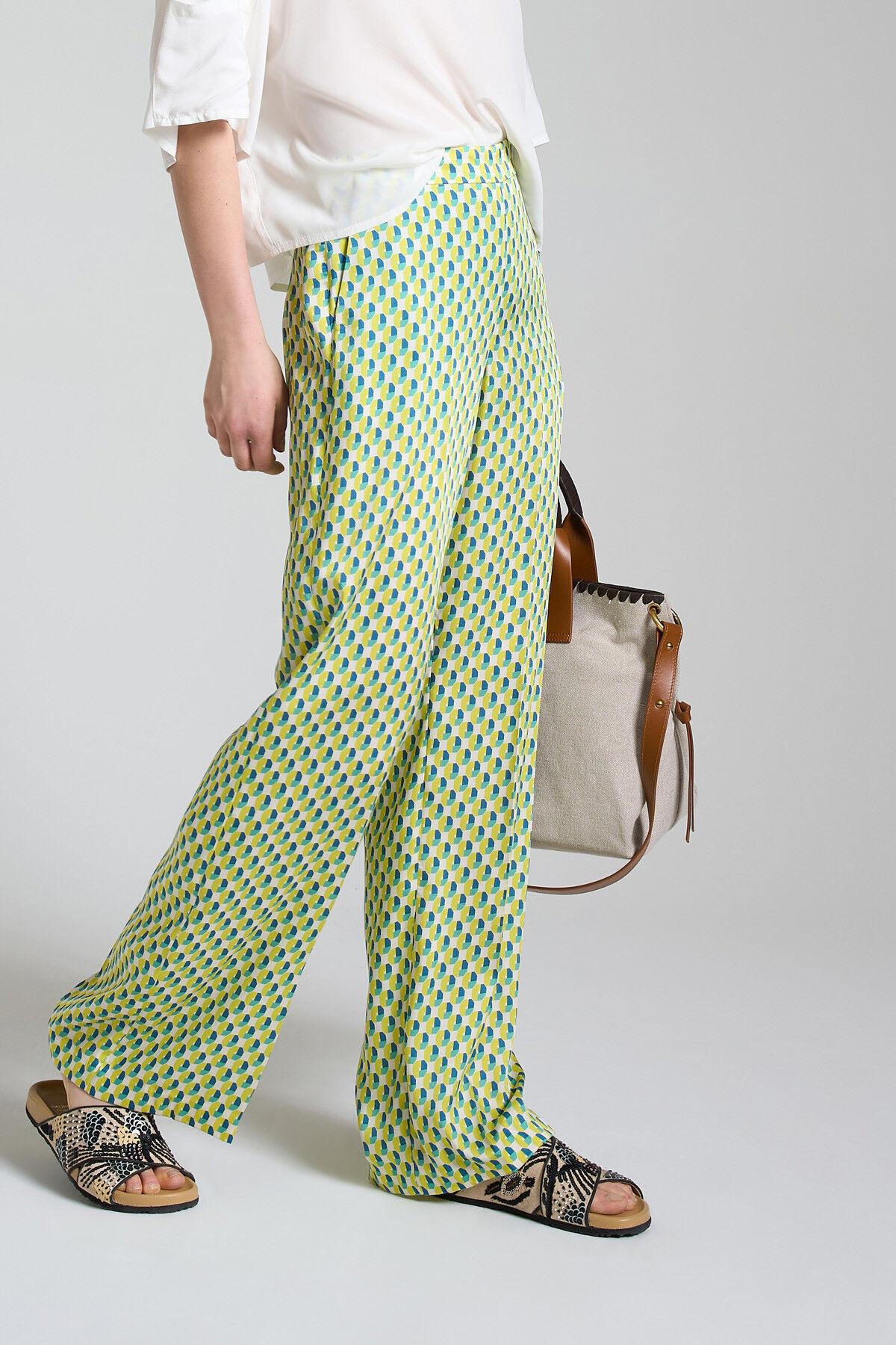Pantalone Geometric Twill - Maliparmi