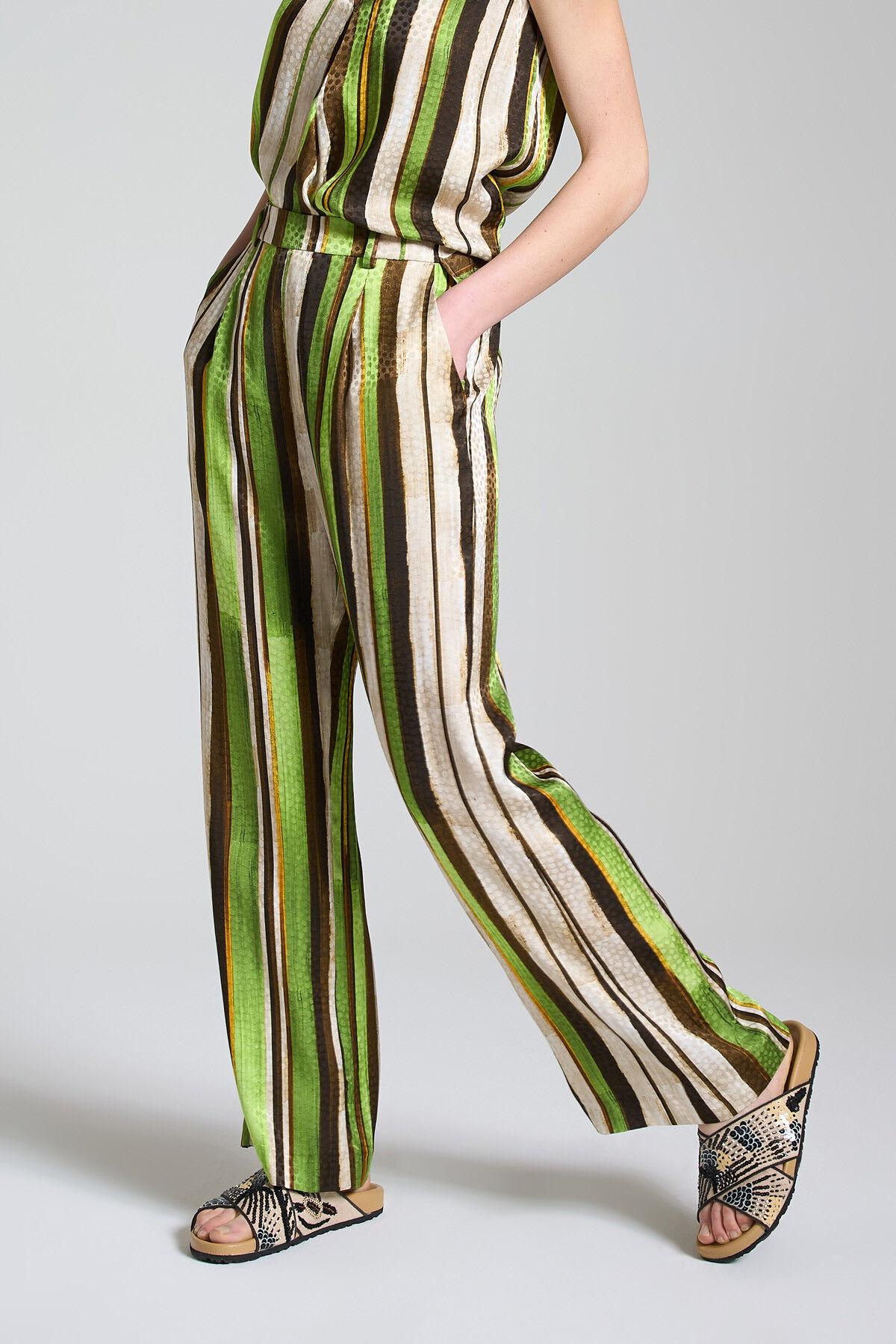 Pantalone Stripes Jacquard - Maliparmi
