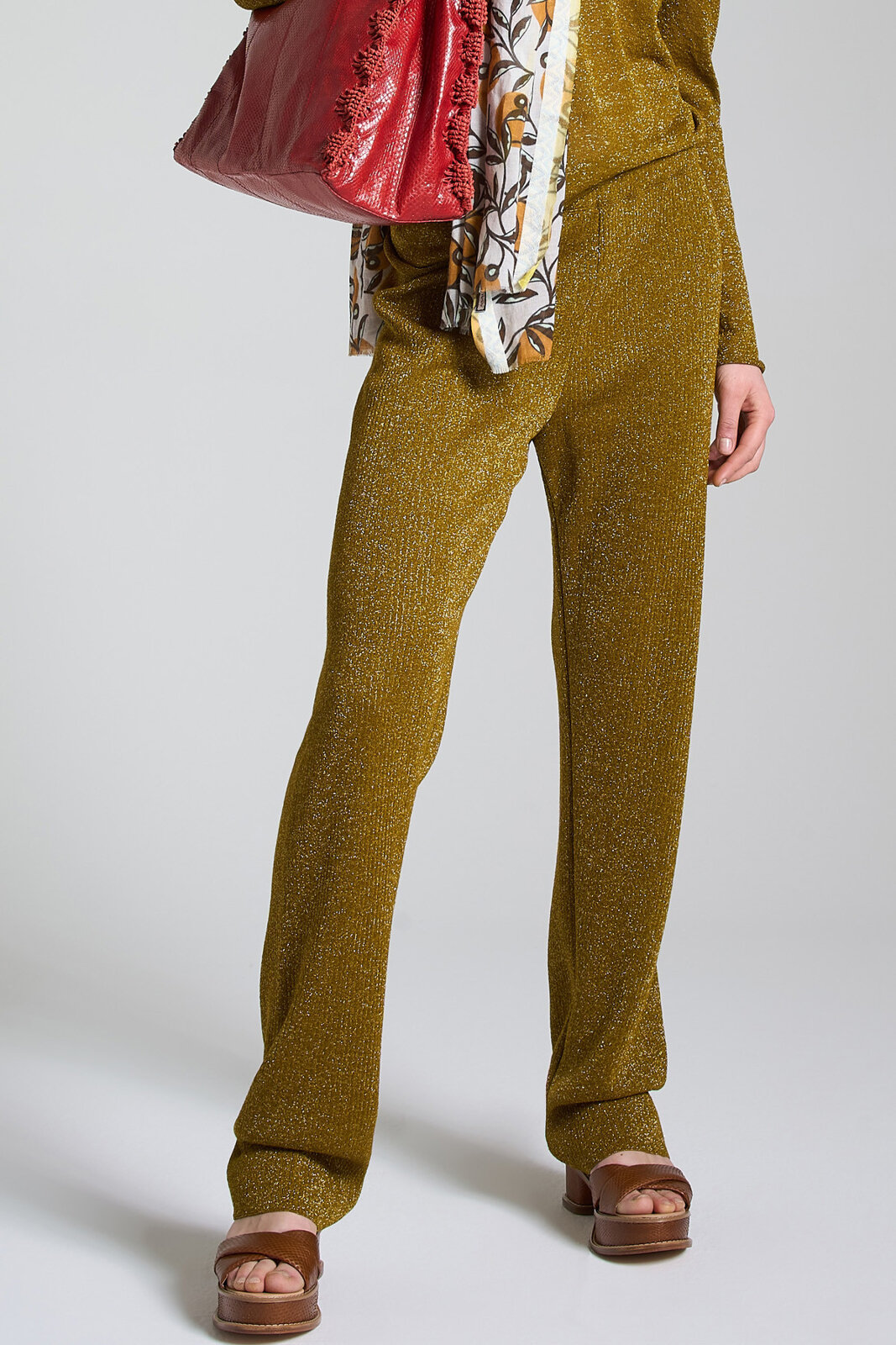 Pantalone Vertical Lurex - Maliparmi