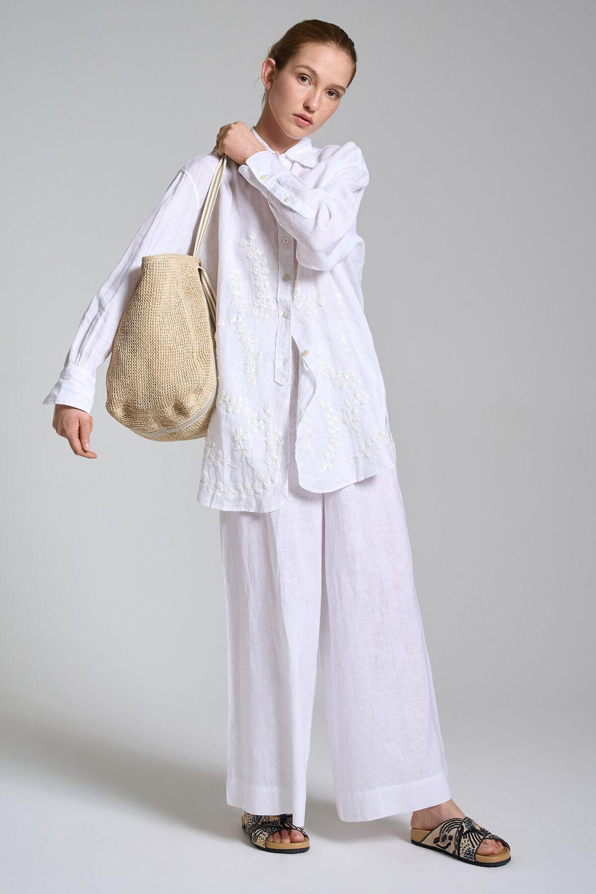 Pantalone Ramage On Linen - Maliparmi