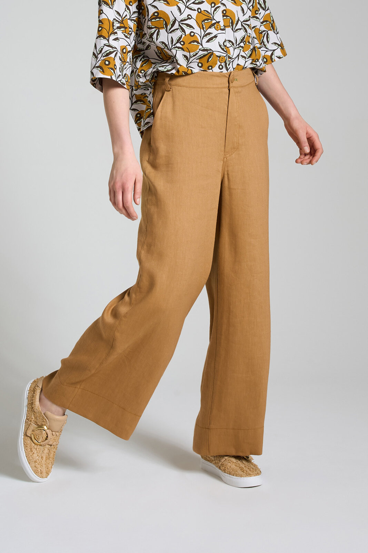 Pantalone Diagonal Linen - Maliparmi