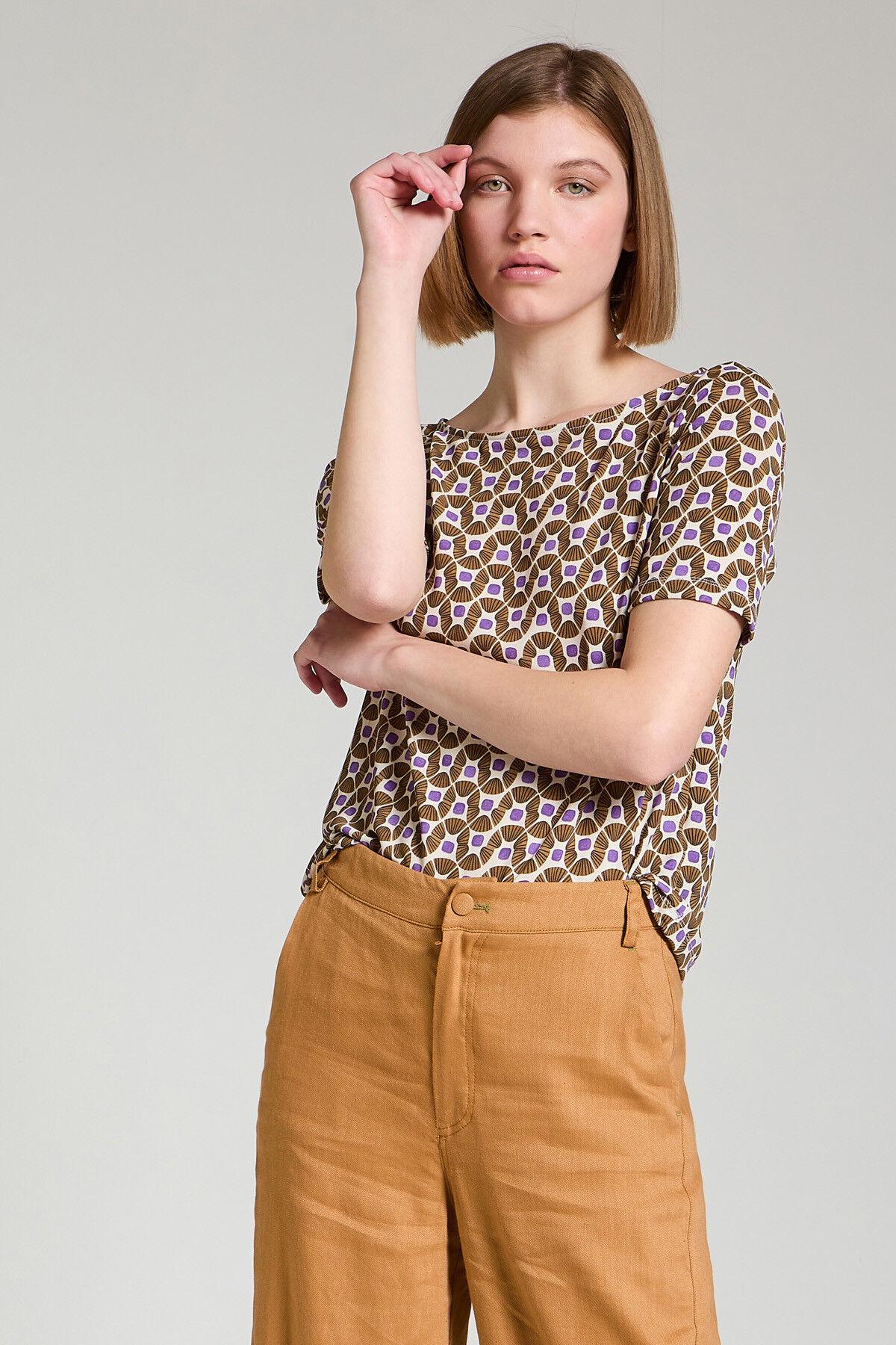 T-Shirt Jersey Happy Frame - Maliparmi