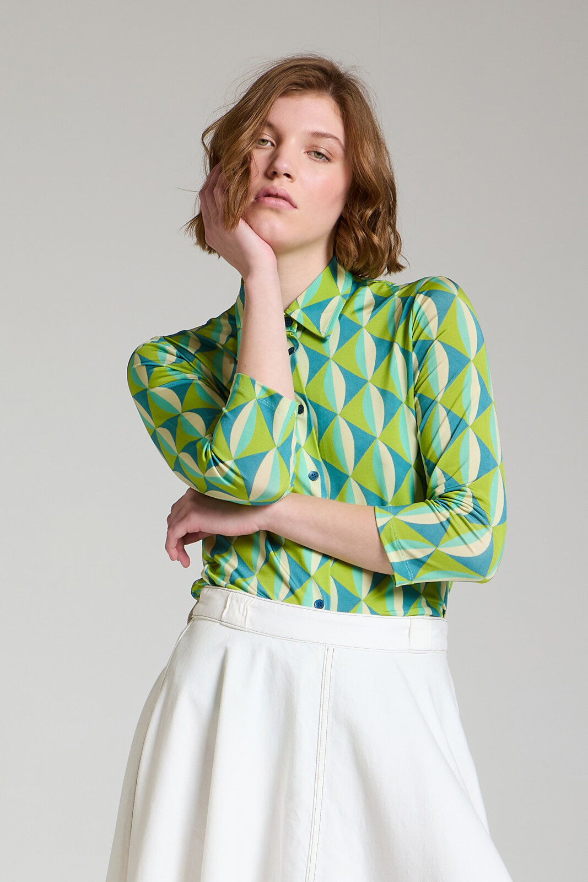 Camicia Jersey Symmetria - Maliparmi