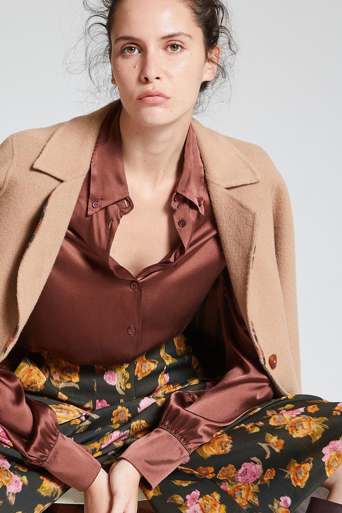Camicia Silk Satin - Maliparmi
