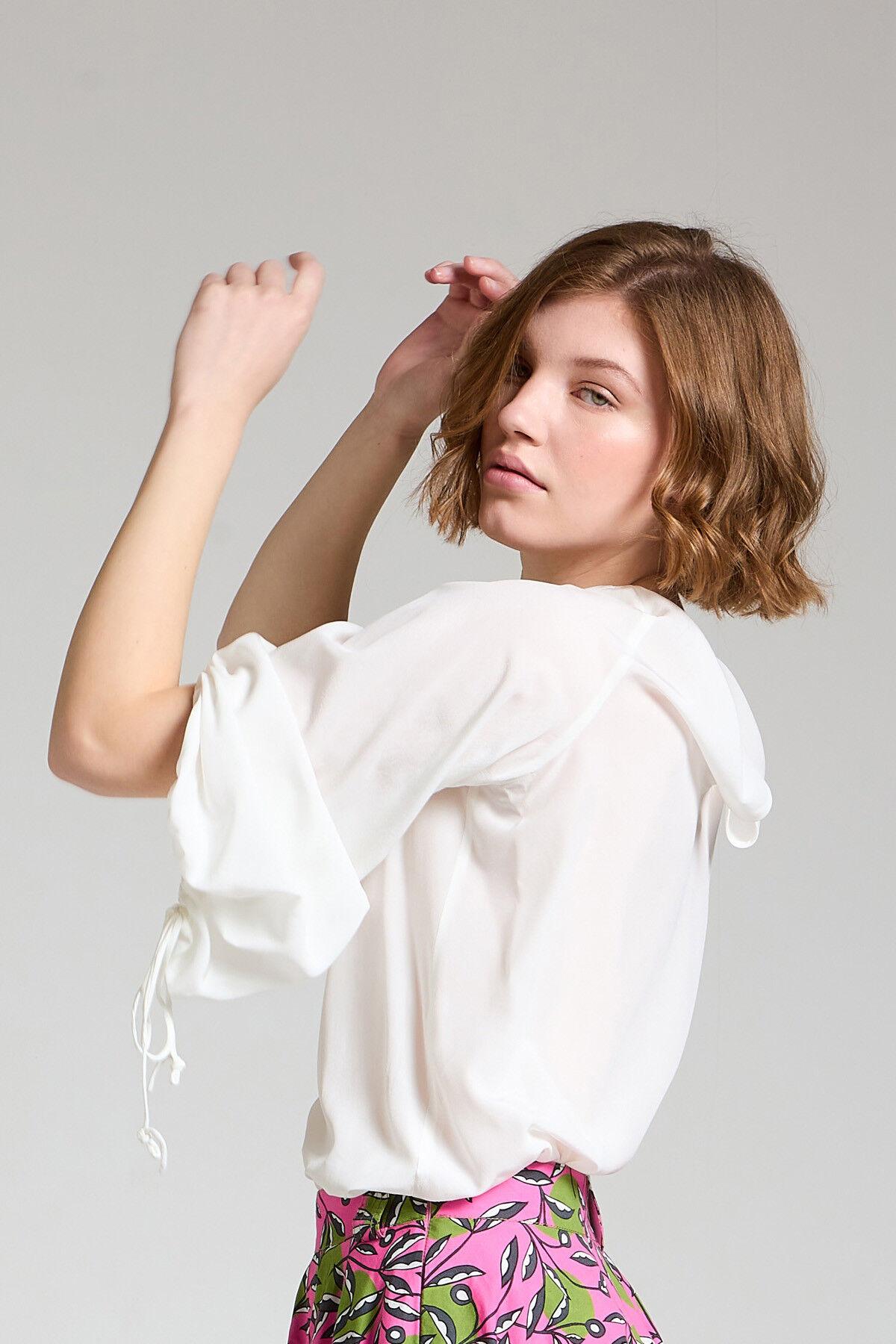 Camicia Crepe De Chine - Maliparmi