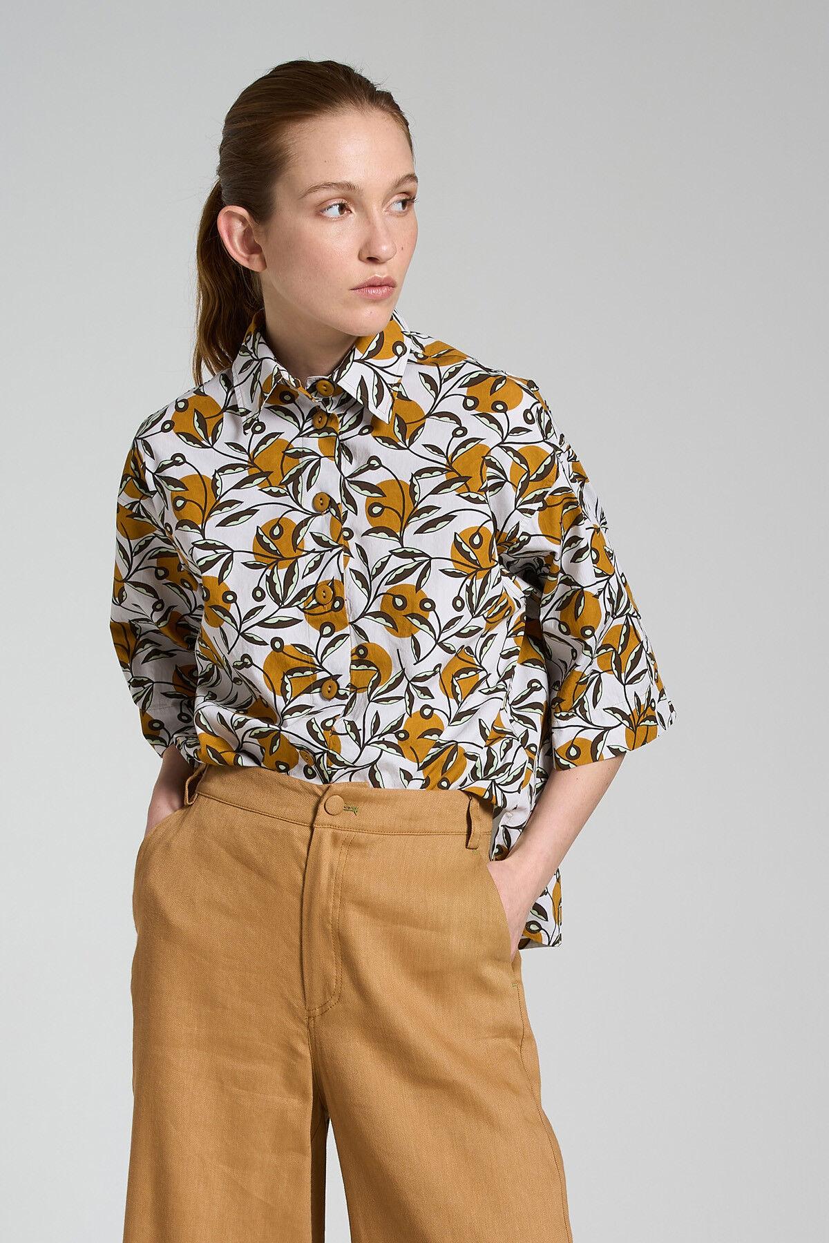 Camicia Popeline Dotty Ramage - Maliparmi
