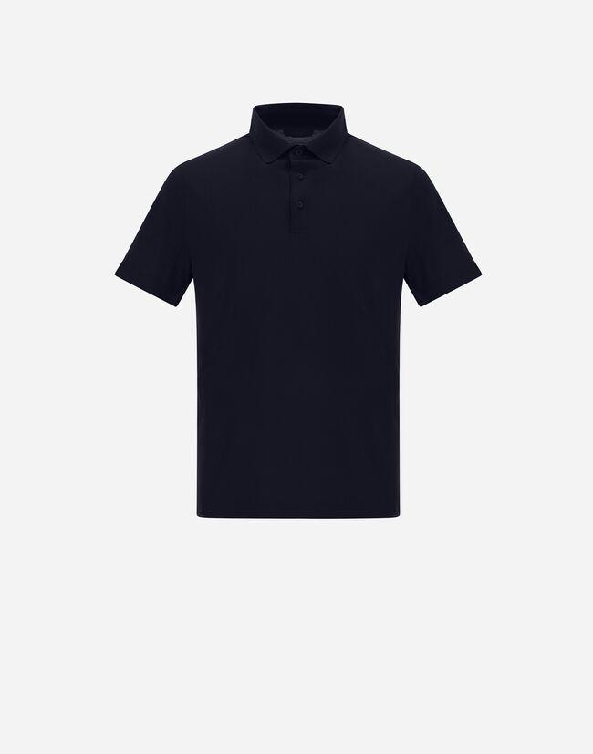Crepe Jersey Polo Shirt - Herno