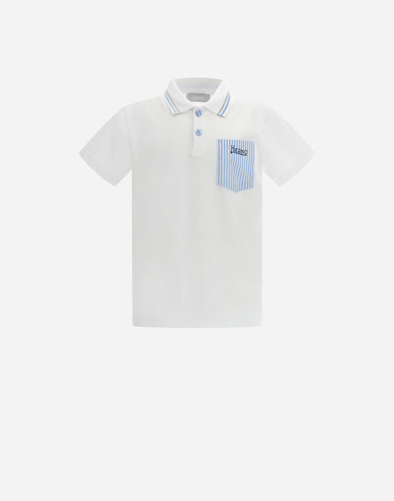 Polo Taschina Camicia - Herno Junior