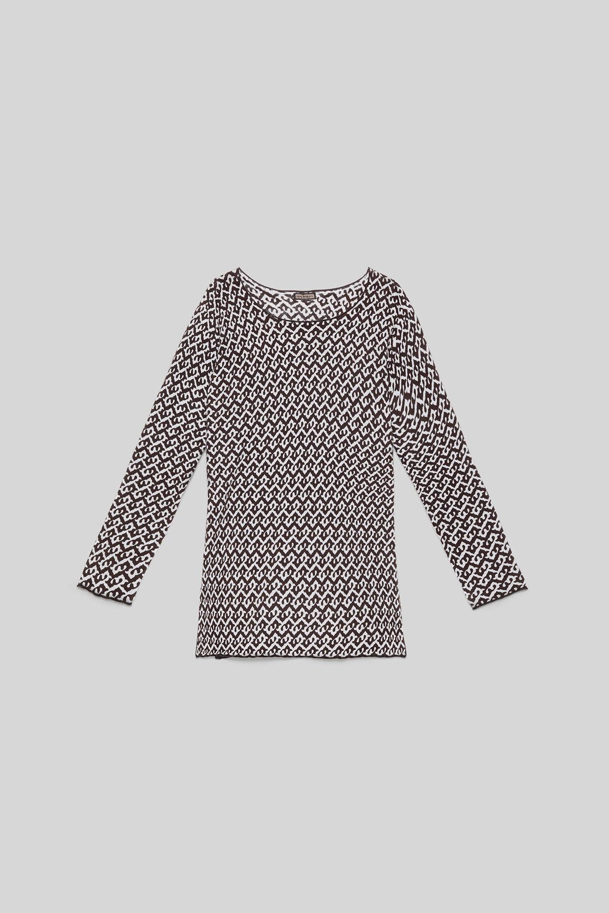 Ceres Drop Cotton Sweater - Maliparmi