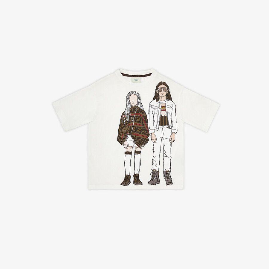 T-Shirt Per Bambini - Fendi Junior