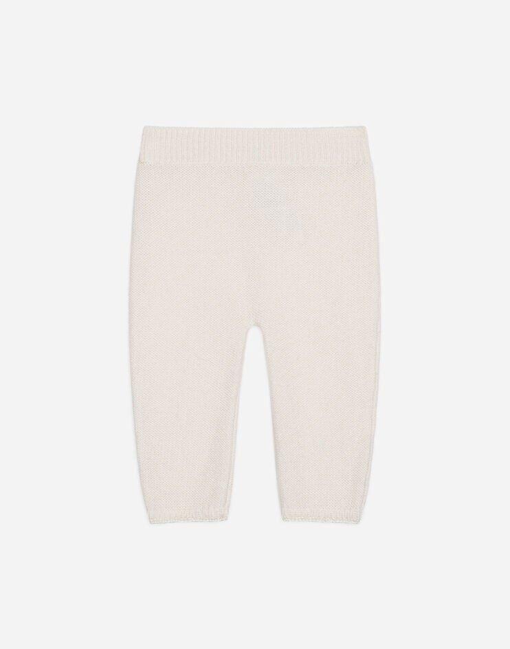 Pantalone In Cashmere - Dolce & Gabbana Junior