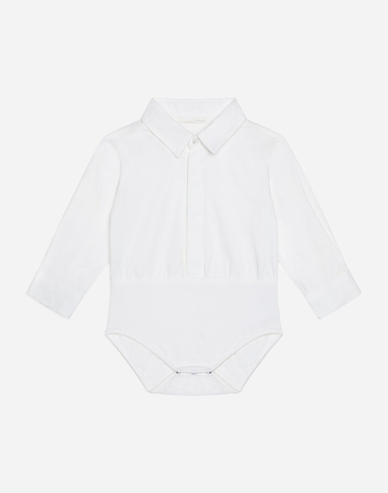 Body Camicia In Cotone - Dolce & Gabbana Junior