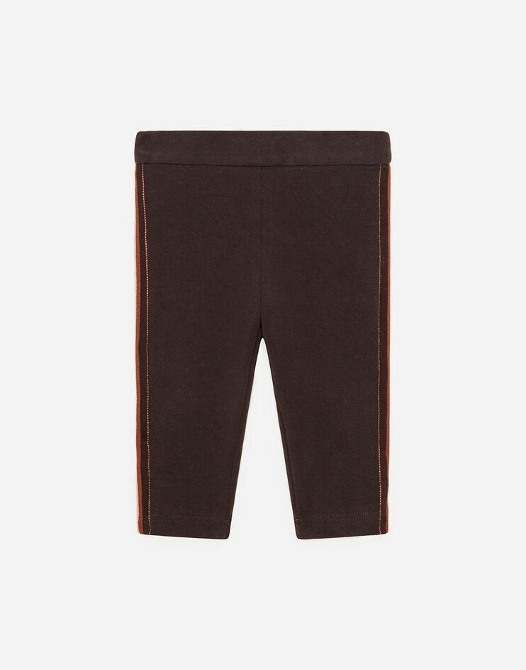 Leggings In Interlock - Dolce & Gabbana Junior