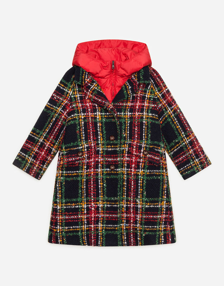 Cappotto Monopetto Con Piumino Interno - Dolce & Gabbana Junior