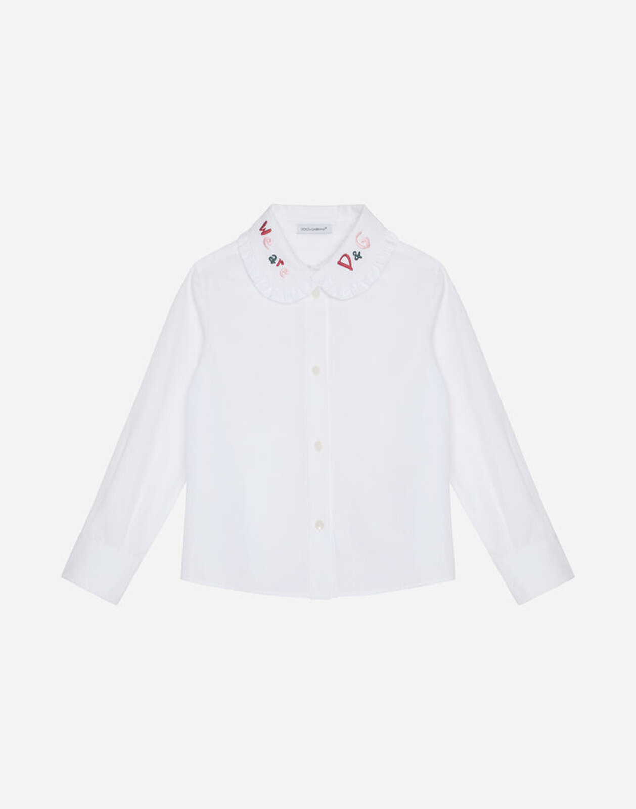 Camicia In Popeline - Dolce & Gabbana Junior