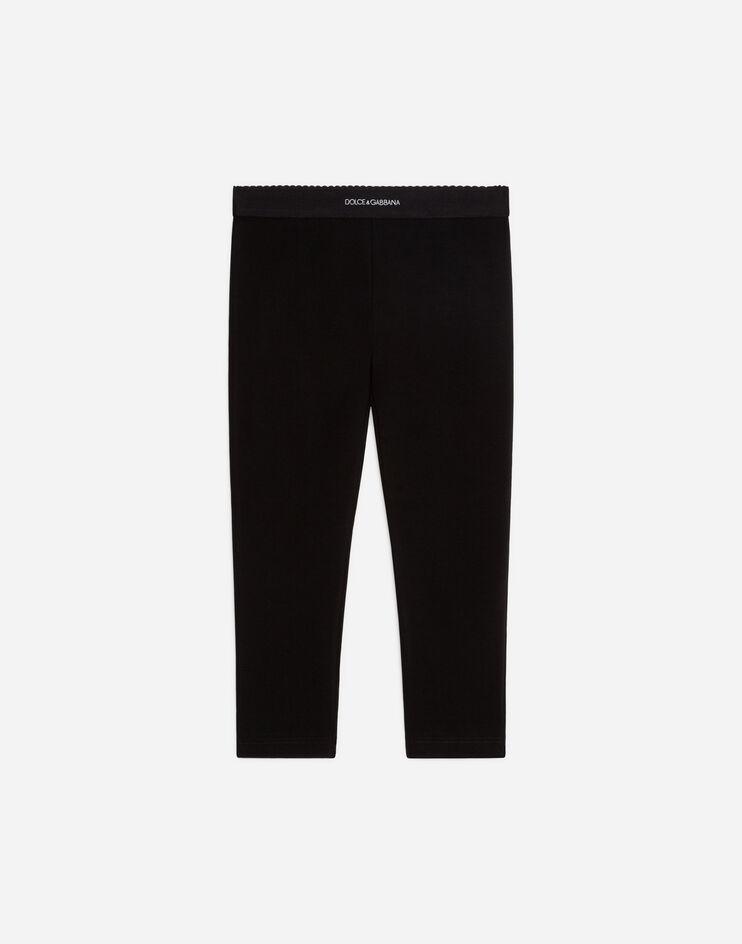 Leggings In Cotone - Dolce & Gabbana Junior