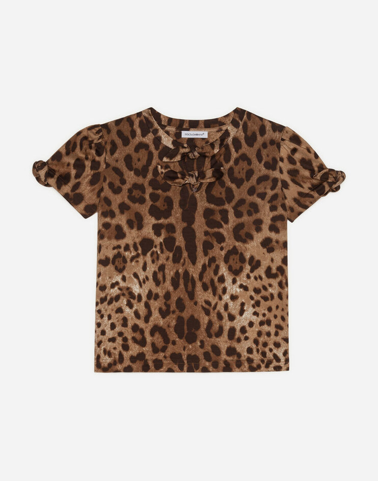 Top In Jersey Stampa Leo - Dolce & Gabbana Junior
