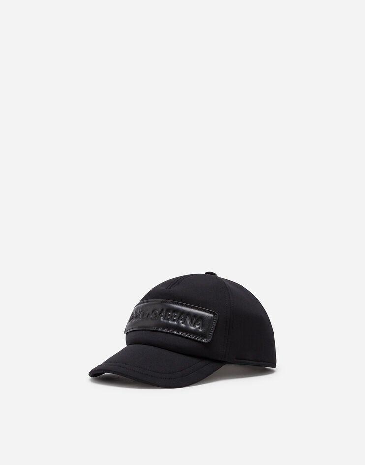 Cappello Da Baseball In Neoprene Con Patch Logo - Dolce & Gabbana Junior