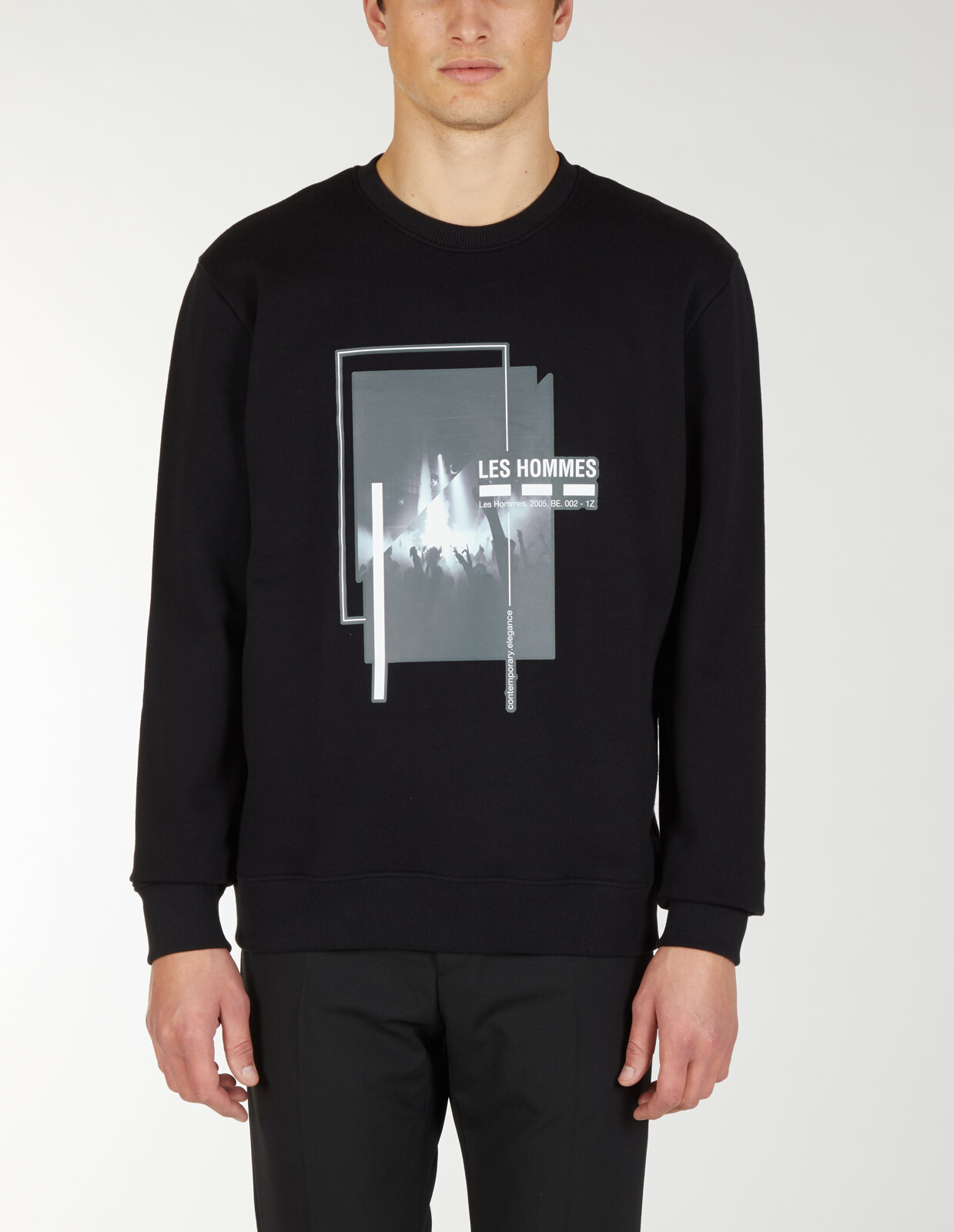 Round Neck Sweatshirt With Lhns Freedom Print - Les Hommes