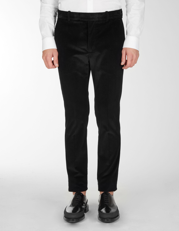 Pantaloni Classici Con Tagli Verticali - Les Hommes