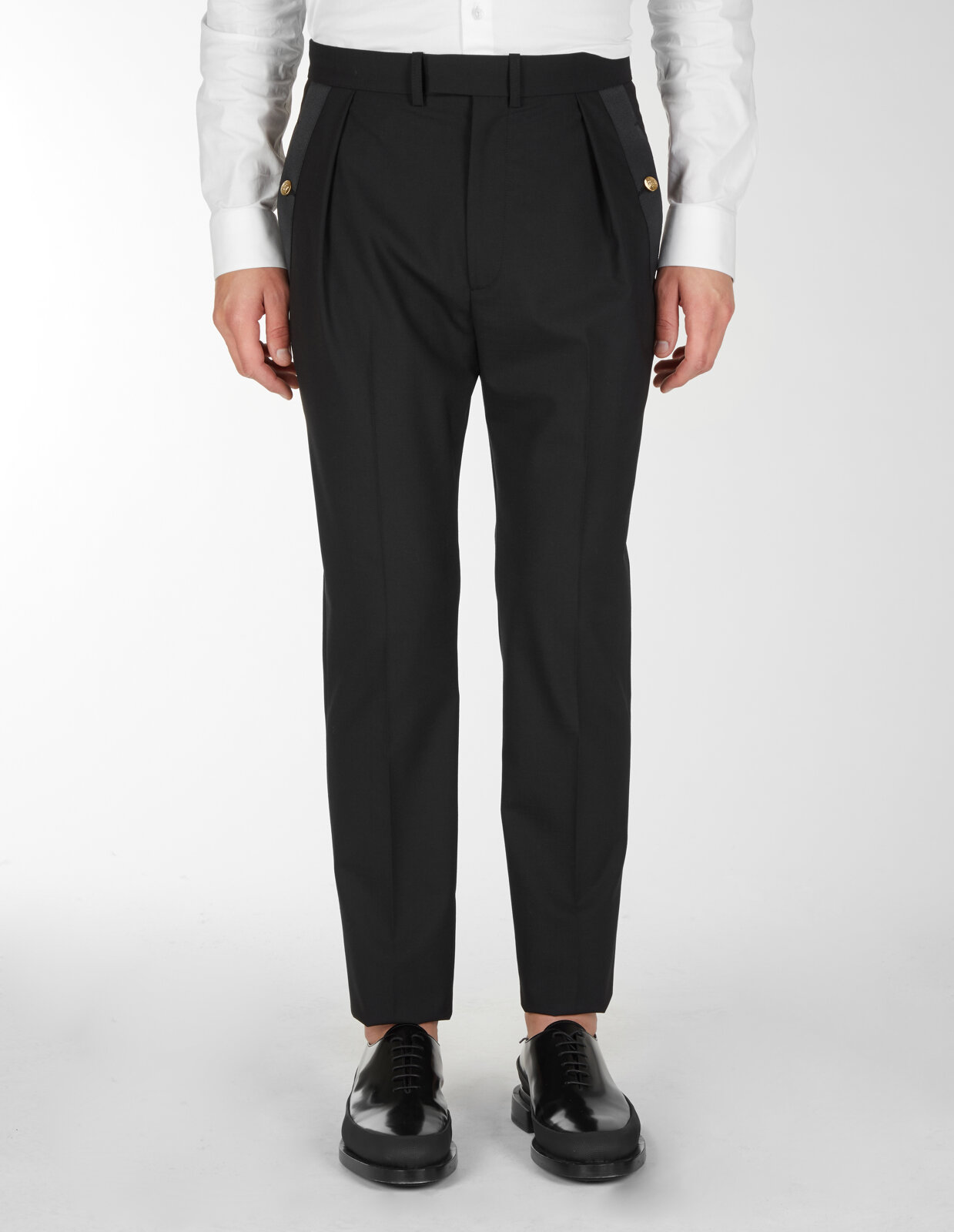 Pantaloni Classici Con Dettaglio Sulla Tasca - Les Hommes