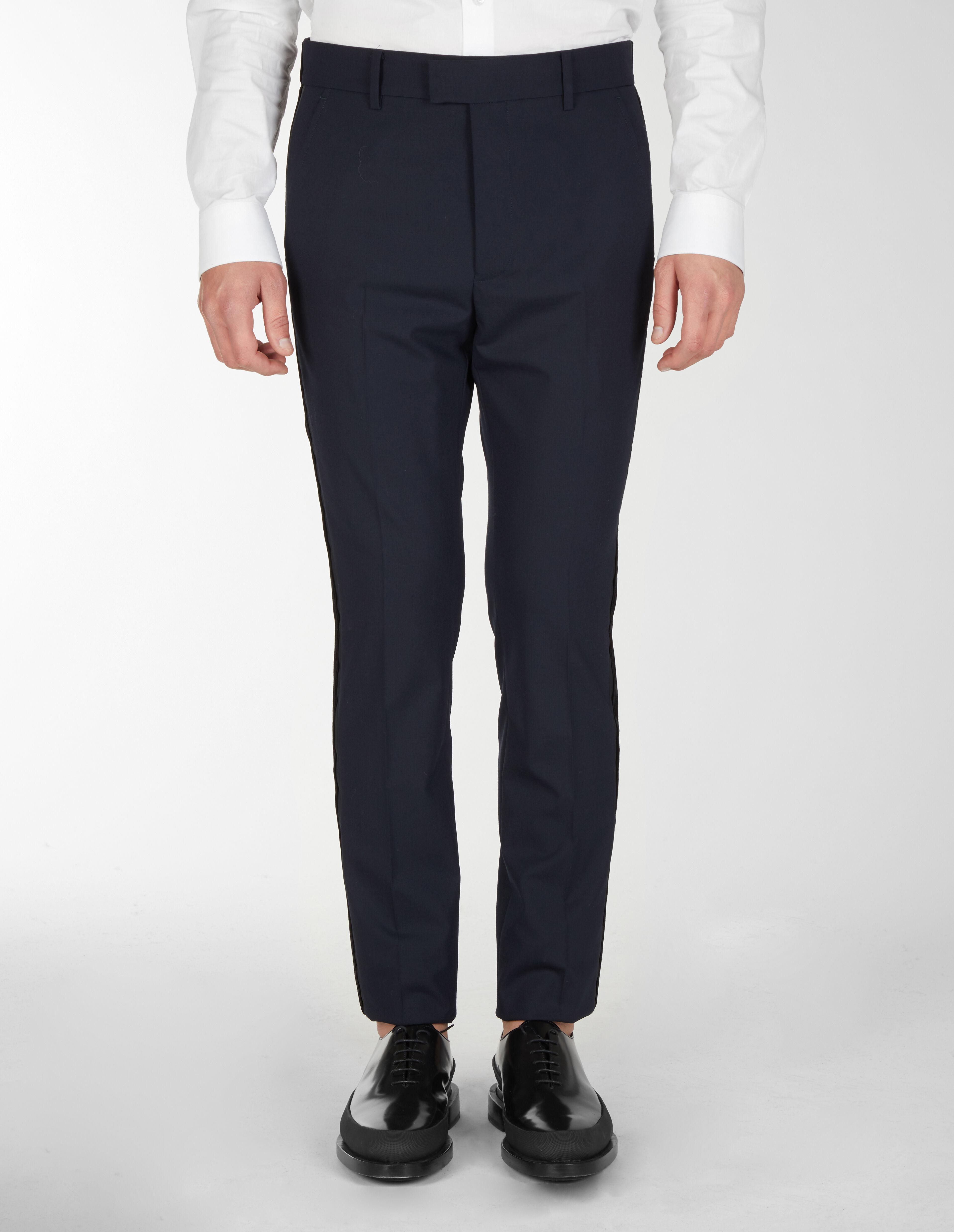 Pantaloni Classici Con Nastro Sul Lato - Les Hommes