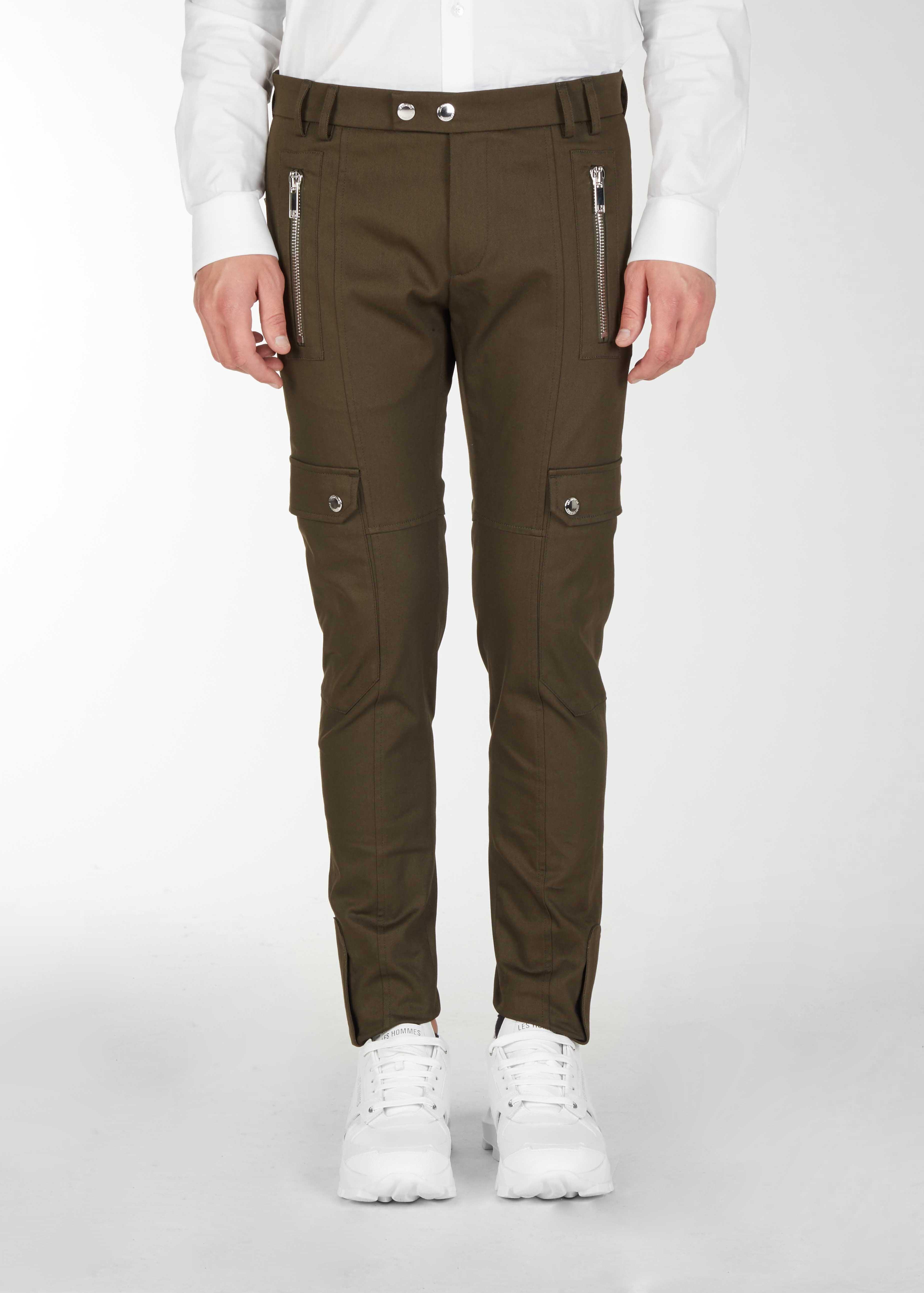 Pantaloni slim fit con tasche grandi - Les Hommes